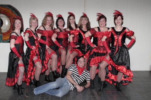 Damentanzgruppe
